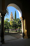 Cathedral belfry bell tower, Toree del Laminar, Great Mosque, Cordoba, Spain