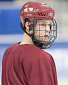 Mike Brennan - The Boston College Eagles practiced at the Bradley Center in Milwaukee, Wisconsin, on April 7, 2006 in preparation for the 2006 Frozen Four Final game vs. the University of Wisconsin on April 8, 2006.