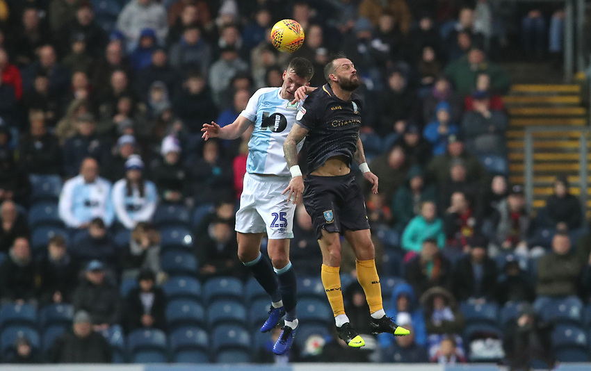 Blackburn Rovers' Paul Downing <br /> <br /> Photographer Rachel Holborn/CameraSport<br /> <br /> The EFL Sky Bet Championship - Blackburn Rovers v Sheffield Wednesday - Saturday 1st December 2018 - Ewood Park - Blackburn<br /> <br /> World Copyright © 2018 CameraSport. All rights reserved. 43 Linden Ave. Countesthorpe. Leicester. England. LE8 5PG - Tel: +44 (0) 116 277 4147 - admin@camerasport.com - www.camerasport.com