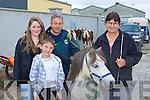 Charlene, Pa?raic, Jim O'Connor Scartaglen and Conor Mary Hartigan Newcastle West at Rathmore Fair on Sunday