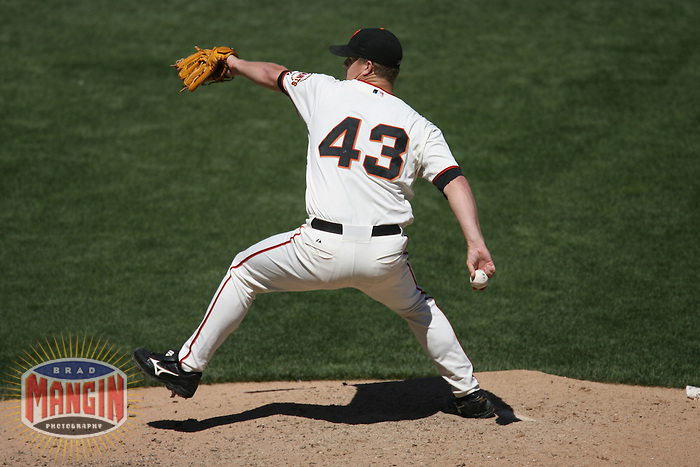 Matt Cain. Baseball: Cincinnati Reds vs San Francisco Giants at AT&T Park in San Francisco, CA on August 27, 2006. Photo by Brad Mangin
