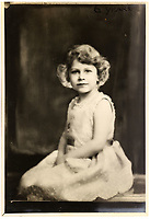 BNPS.co.uk (01202 558833)<br /> Pic: MarcusAdams/ChiswickAuctions/BNPS<br /> <br /> Princess Elizabeth at 6 years old<br /> <br /> Charming childhood photos of Princess Elizabeth and Princess Margaret have come to light, including a previously unseen image of the future Queen in a kilt.<br /> <br /> The portraits, taken by acclaimed British society photographer Marcus Adams, capture the future Queen from being a baby to her adolescence.<br /> <br /> The Queen Mother would often take her daughters to his central London studio where he would set up toys and props to keep them entertained