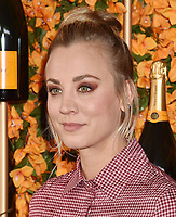 PACIFIC PALISADES, CA - OCTOBER 06: Kaley Cuoco arrives at the 9th Annual Veuve Clicquot Polo Classic Los Angeles at Will Rogers State Historic Park on October 6, 2018 in Pacific Palisades, California.<br /> CAP/ROT/TM<br /> &copy;TM/ROT/Capital Pictures