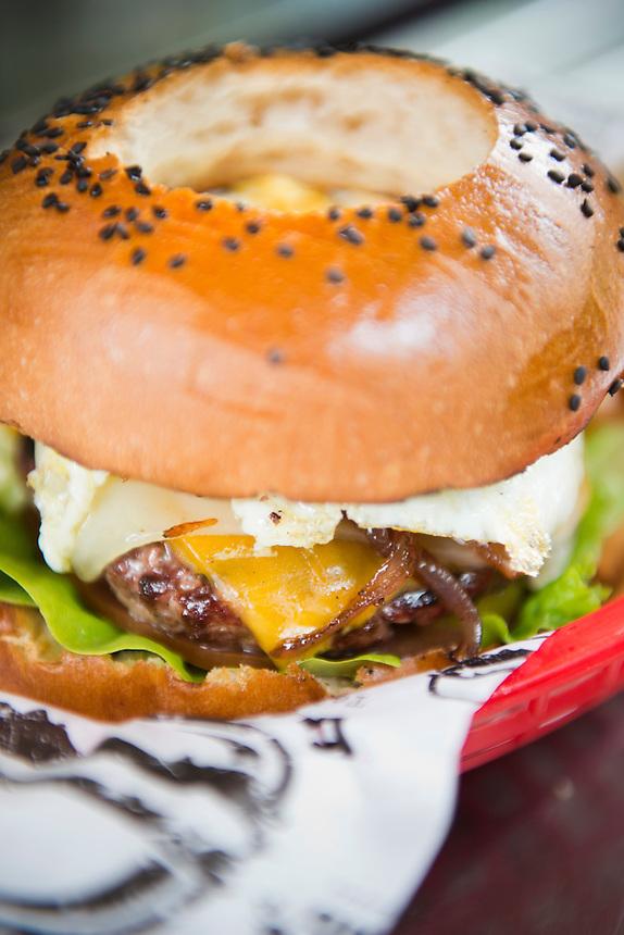 Burger Lab. Food trucks, Mexico DF