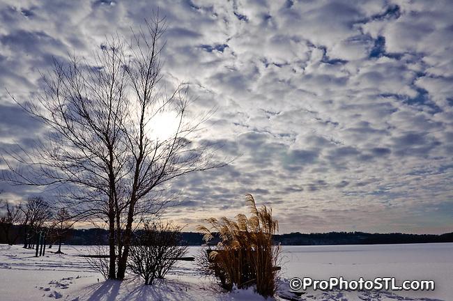 Winter in Missouri.