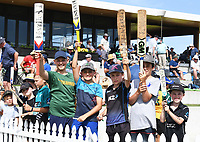 23rd November 2019; Mt Maunganui, New Zealand;  Fans during the 1st Test match. New Zealand Black Caps v England. International Cricket at Bay Oval, Mt Maunganui, New Zealand.  - Editorial Use