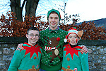 Santa Arriving in Duleek, Jack Jones Stephen Duffy and Darren O'Brien<br /> Picture: Fran Caffrey www.newsfile.ie