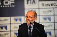 PESCAROLO GRAND MARSCHAL , PRESS CONFERENCE FIA WEC CALENDAR 2015