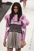 Graduate Fashion Week 2012, collection by Claire Rushby of University of Salford Manchester