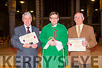 Pioneers who have completed  50 and 60 membership of the Pioneer Association were presented with pins and certificates at the Vigil Mass in St. John's  on Saturday were Bill Corcoran 50 years, and Vincent O'Mahony, 60 years with Fr Bernard Healy