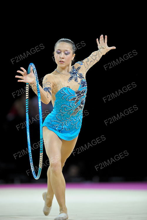 Rhythmic World Championships Montpelier France 20.9.11. Individual Competition Hoop & Ball. MITEVA Silviya