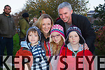 Sean, Caitriona, Rachel Ryan and David Sargent, pictured at Tralee circus festival at Pearse Park on Sunday.