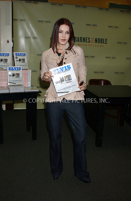 WWW.ACEPIXS.COM . . . . . ....NEW YORK, MAY 13, 2005....Priscilla Presley signs copies of her new book 'Elvis by the Presleys' at Barnes and Noble in Rockefeller Center.....Please byline: KRISTIN CALLAHAN - ACE PICTURES.. . . . . . ..Ace Pictures, Inc:  ..Craig Ashby (212) 243-8787..e-mail: picturedesk@acepixs.com..web: http://www.acepixs.com
