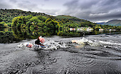 Royal Navy swims Loch Lomond