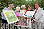 IN THE FRAME: Eileen O'Keeffe, Phil Hussey, Celine Slattery, Phyllis Fitzgibbon and Aileen Callaghan from Probus have their art at the ready for their annual Art Exhibition taking place in Kerry County Library from May 21st.