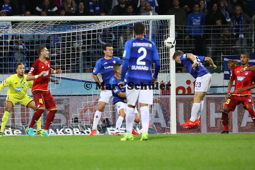 Torchance Florian Jungwirth (SV Darmstadt 98) - SV Darmstadt 98 vs. TSG 1899 Hoffenheim, Johnny Heimes Stadion am Boellenfalltor