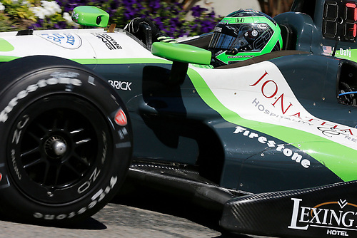 15-17 April, 2016, Long Beach, California USA<br /> 18 Conor Daly<br /> ©2016, Perry Nelson<br /> LAT Photo USA