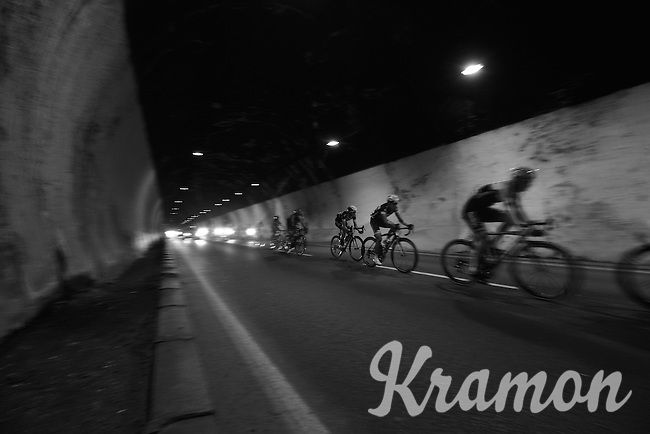 racing through the dark<br /> <br /> 2014 Giro d'Italia <br /> stage 17: Sarnonico - Vittori Veneto (208km)