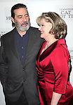 Ciaran Hinds & Debra Monk attending the Broadway Opening Night Performance After Party for 'Cat On A Hot Tin Roof' at The Lighthouse at Chelsea Piers in New York City on 1/17/2013