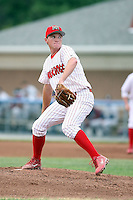 June 29th, 2007:  Josh Wilson of the Batavia Muckdogs, Short-Season Class-A affiliate of the St. Louis Cardinals at Dwyer Stadium in Batavia, NY.  Photo by:  Mike Janes/Four Seam Images