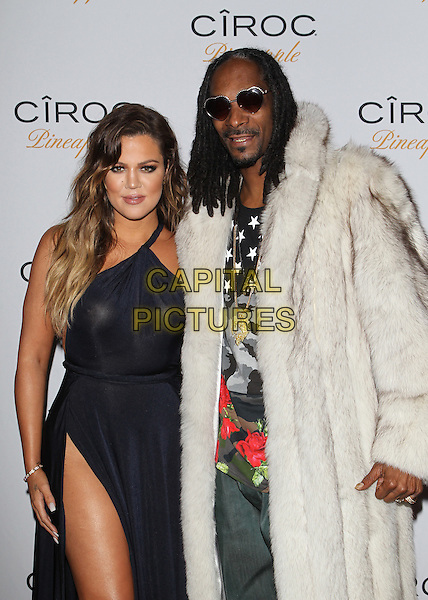 Bel Air, CA - November 9: Khlo&Egrave; Kardashian, Snoop Dogg aka Snoop Lion Attending French Montana's 30th Birthday Party Powered by CIROC Pineapple At A Private Residence California on November 9, 2014.  <br /> CAP/MPI/RTNUPA<br /> &copy;RTNUPA/MediaPunch/Capital Pictures