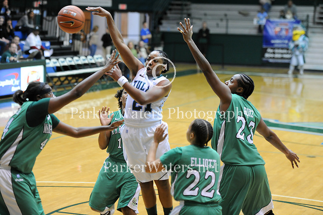 Tulane downs Marshall, 68-52, in women's basketball action at Fogelman Arena.