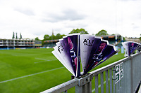 Naim clapper banners. Gallagher Premiership match, between Bath Rugby and Wasps on May 5, 2019 at the Recreation Ground in Bath, England. Photo by: Patrick Khachfe / Onside Images