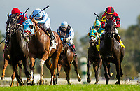 October 06 2018 : Bucchero with Fernando De La Cruz wins the Woodford Stakes at Keeneland Racecourse on October 06, 2018 in Lexington, Kentucky. Evers/ESW/CSM