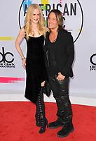 Nicole Kidman &amp; Keith Urban at the 2017 American Music Awards at the Microsoft Theatre LA Live, Los Angeles, USA 19 Nov. 2017<br /> Picture: Paul Smith/Featureflash/SilverHub 0208 004 5359 sales@silverhubmedia.com