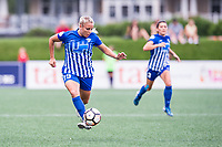 Boston, MA - Saturday July 01, 2017: Adriana Leon during a regular season National Women's Soccer League (NWSL) match between the Boston Breakers and the Washington Spirit at Jordan Field.