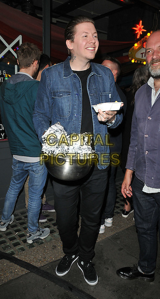 Professor Green ( Stephen Paul Manderson ) attends the Professor Green's &quot;Lucky&quot; book launch party, Lights of Soho, Brewer Street, London, England, UK, on Thursday 10 September 2015. <br /> CAP/CAN<br /> &copy;Can Nguyen/Capital Pictures