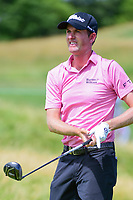 Webb Simpson (USA) watches his tee shot on 12 during Friday's round 2 of the 117th U.S. Open, at Erin Hills, Erin, Wisconsin. 6/16/2017.<br /> Picture: Golffile | Ken Murray<br /> <br /> <br /> All photo usage must carry mandatory copyright credit (&copy; Golffile | Ken Murray)