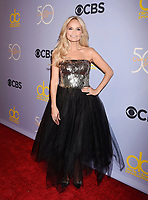 LOS ANGELES, CA - OCTOBER 04: Actress-singer Kristin Chenoweth attends the CBS' 'The Carol Burnett Show 50th Anniversary Special' at CBS Televison City on October 4, 2017 in Los Angeles, California.<br /> CAP/ROT/TM<br /> &copy;TM/ROT/Capital Pictures