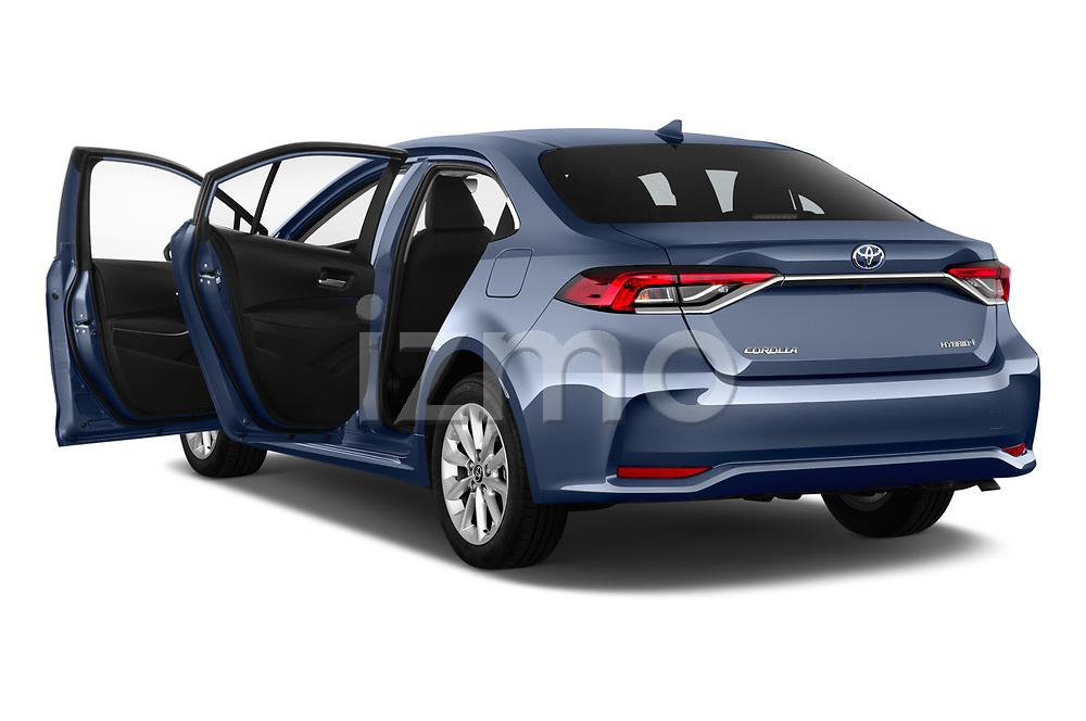 Car images close up view of a 2019 Toyota Corolla Dynamic 4 Door Sedan doors