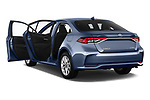 Car images close up view of a 2019 Toyota Corolla Dynamic 4 Door Sedan doors