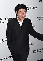 08 January 2020 - New York, New York - Kang-ho Song at the National Board of Review Annual Awards Gala, held at Cipriani 42nd Street. Photo Credit: LJ Fotos/AdMedia