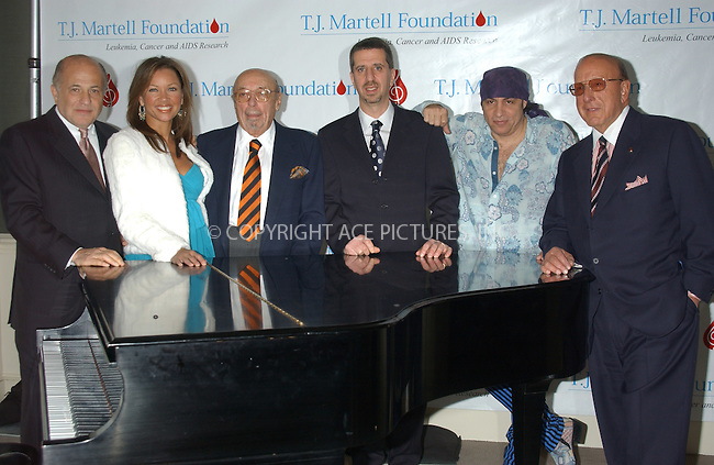 WWW.ACEPIXS.COM . . . . . ....NEW YORK, FEBRUARY 8, 2005....Steven Van Zandt, Clive Davis, Vanessa Williams and Ahmet Ertegun at the announcement for the upcoming 30th anniversary gala of the T. J. Martell Foundation, honoring Atlantic Records Group Chairman and CEO Jason Flom.....Please byline: KRISTIN CALLAHAN - ACE PICTURES.. . . . . . ..Ace Pictures, Inc:  ..Philip Vaughan (646) 769-0430..e-mail: info@acepixs.com..web: http://www.acepixs.com