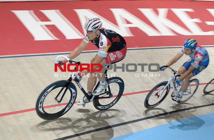 12.01.2014, &Ouml;VB Arena, Bremen, GER, Sixdays Bremen, im Bild Robert Bartko (Team swb #9)<br /> <br /> Foto &copy; nordphoto / Frisch