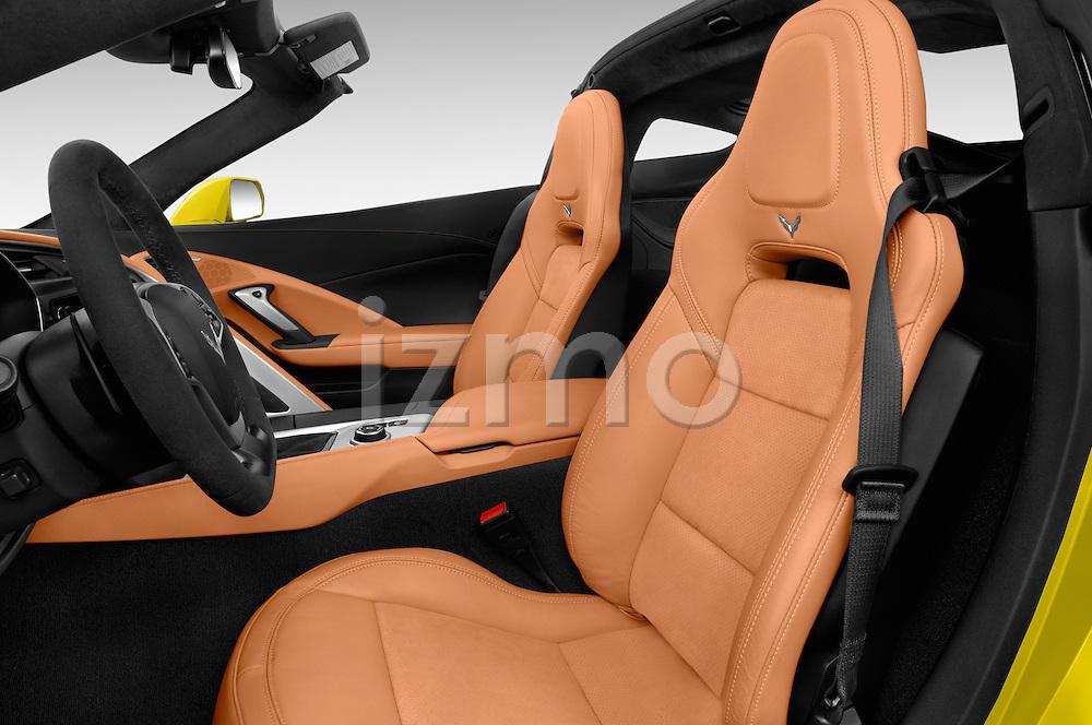 Front seat view of 2018 Chevrolet Corvette Grand-Sport-2LT 3 Door Coupe Front Seat  car photos