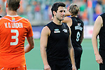 The Hague, Netherlands, June 10: Kane Russell #21 of New Zealand looks on after the field hockey group match (Men - Group B) between New Zealand and The Netherlands on June 10, 2014 during the World Cup 2014 at Kyocera Stadium in The Hague, Netherlands. Final score 1-1 (0-1) (Photo by Dirk Markgraf / www.265-images.com) *** Local caption ***