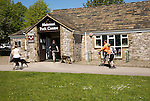 National Park Centre building, Malham village, Yorkshire Dales national park, England, UK