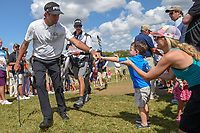 Bubba Watson (USA) fist bumps a young fan on his way to 7 during round 4 of the Arnold Palmer Invitational at Bay Hill Golf Club, Bay Hill, Florida. 3/10/2019.<br /> Picture: Golffile | Ken Murray<br /> <br /> <br /> All photo usage must carry mandatory copyright credit (© Golffile | Ken Murray)