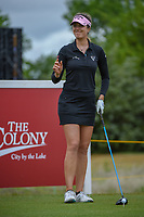 Sandra Gal (DEU) prepares to tee off on 1 during round 1 of  the Volunteers of America LPGA Texas Classic, at the Old American Golf Club in The Colony, Texas, USA. 5/4/2018.<br /> Picture: Golffile | Ken Murray<br /> <br /> <br /> All photo usage must carry mandatory copyright credit (&copy; Golffile | Ken Murray)