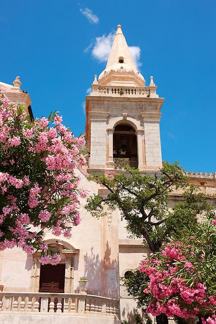 Church of St. Guiseppe on the Plaza ix Aprile  - Taormina, Sicily