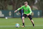 13.09.2017, Trainingsgelaende, Bremen, GER, 1.FBL, Training SV Werder Bremen<br /> <br /> im Bild<br /> Florian Kainz (Werder Bremen #7), <br /> <br /> Foto &copy; nordphoto / Ewert