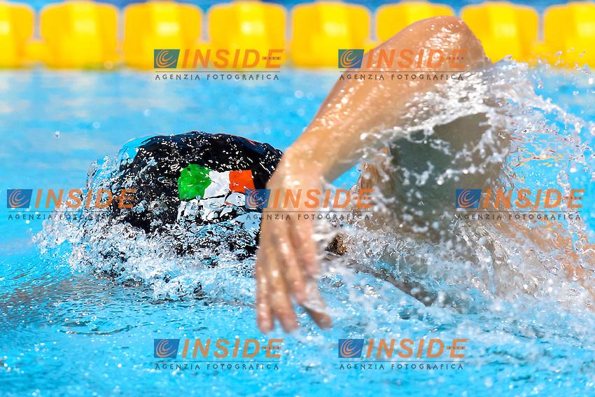 Gabriele DETTI ITA<br /> 400m Freestyle Men <br /> London, Queen Elizabeth II Olympic Park Pool <br /> LEN 2016 European Aquatics Elite Championships <br /> Diving  <br /> Day 08 16-05-2016<br /> Photo Andrea Staccioli/Deepbluemedia/Insidefoto
