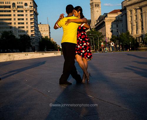 Tango on Freedom Plaza, Washington, DC