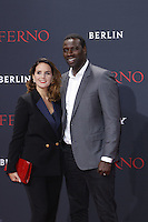 Omar Sy and wife Helene attending the &quot;Inferno&quot; premiere held at CineStar, Sony Center, Potsdamer Platz, Berlin, Germany, 10.10.2016. <br /> Photo by Christopher Tamcke/insight media /MediaPunch ***FOR USA ONLY***