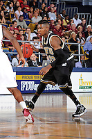 18 November 2010:  FIU's Jeremy Allen (32) handles the ball in the second half as the Florida State University Seminoles defeated the FIU Golden Panthers, 89-66, at the U.S. Century Bank Arena in Miami, Florida.