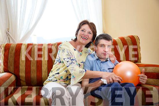 Ina O'Dwyer and son Bernard.